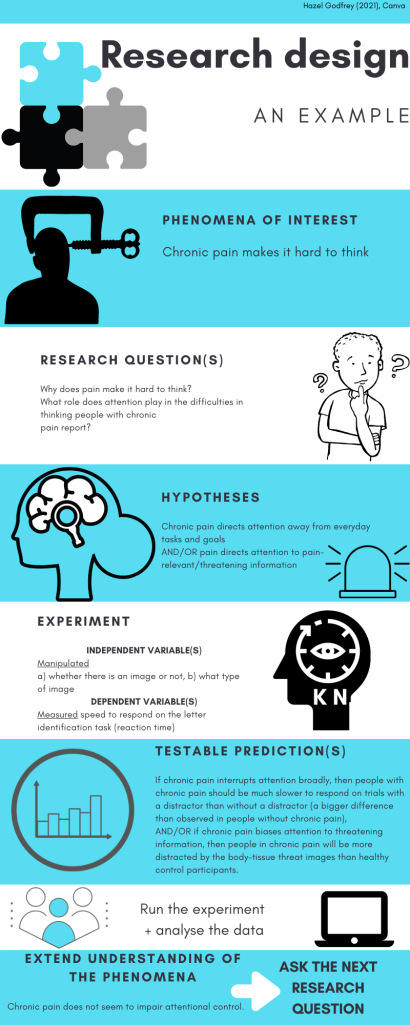 Infographic representing the research process as described in text.